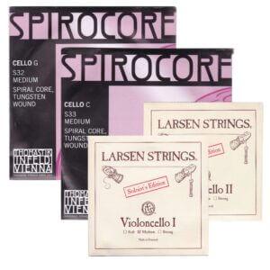 Larsen Solo a-d Cello w/Spiracore g-c
