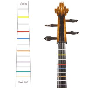 Violin Dont Fret Sticker