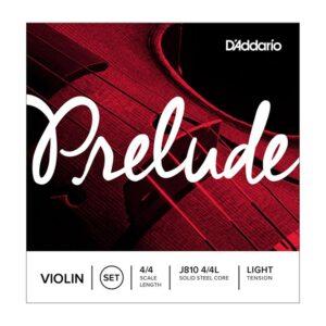 D'Addario Prelude Violin Strings Set